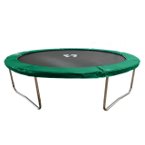 Big Foot 8ft Trampoline Green