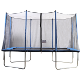 8x12ft Rectangular Trampoline with Safety Enclosure