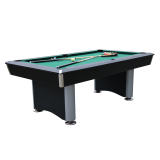 Walker & Simpson Regent 7ft Pool Table Black Body & Green Cloth