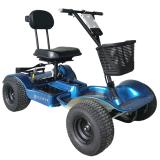 Hillman Hunter Blue Golf Buggy