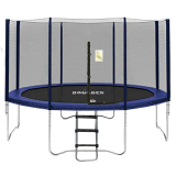 Big Air Boulder 14ft Round Trampoline with Enclosure