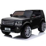 Kids Electric Ride On Car Land Rover Discovery Twin Seat Black