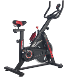 BodyTrain ES-7021 Racing Studio Style Exercise Bike Black