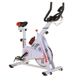 BodyTrain ES-7021 Racing Studio Style Exercise Bike White