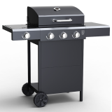 Embermann Grill Master 3 Burner Barbecue with Side Burner