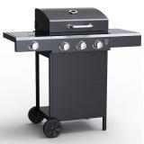 Embermann Grill Master 3 Burner Barbecue with Side Burner