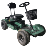 Hillman Hunter GT Sport Green Golf Buggy