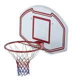 Air League Full Size Basketball Backboard and Hoop Combo