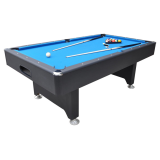 Walker & Simpson Captain 6ft Slate Bed Pool Table black blue
