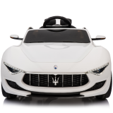 Kids Electric Ride On Car Maserati Alfieri 12v White