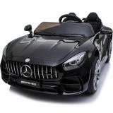Kids Electric Car Mercedes AMG GT 12v Twin Seat - Black