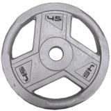 Ironman Olympic Grey Hammerton Tri-Grip Plates 2x 45lb