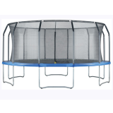 Air League 16ft Trampoline & Enclosure Blue