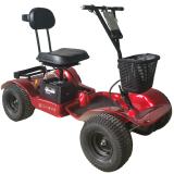 Hillman Hunter Red Golf Buggy