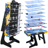 12 in 1 Folding Multi Games Table