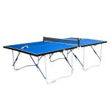 Walker & Simpson Flat Hit Full Size Folding Table Tennis Table – Blue