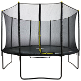 14ft Powder Coated Trampoline with Safety Enclosure