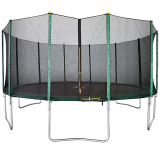 16ft Trampoline + Enclosure
