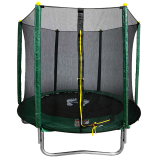 6ft Powder Coated Trampoline with Safety Enclosure