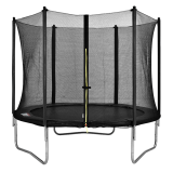 Velocity 10ft Trampoline & Safety Enclosure Black