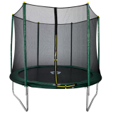 8ft Trampoline and Safety Enclosure