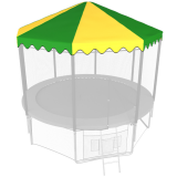 8ft Trampoline Canopy Tent Roof