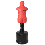TLS-A IronMan Free Standing Punch Bag Sparring Dummy Man Red