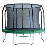 Big Foot 10ft Trampoline & Enclosure Green