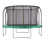 Air League 14ft Trampoline with Enclosure Green