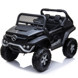 Kids Ride On Mercedes-Benz UniMog - 12V Black
