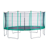 16ft Velocity Trampoline with enclosure