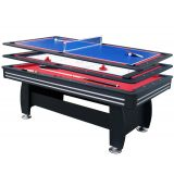 Walker and Simpson 7ft Gamesmaster 3 in 1 Deluxe in Black