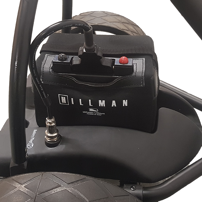 Hillman Lithium Golf Trolley 22ah - 36 Hole Battery Set