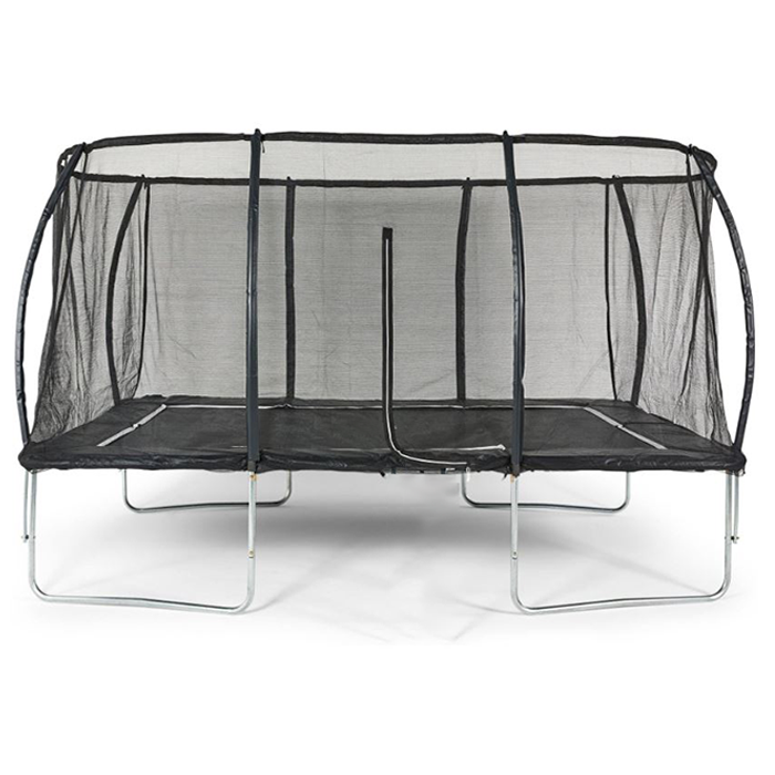 Air King Pro 8x12ft Rectangular Trampoline with Safety Enclosure