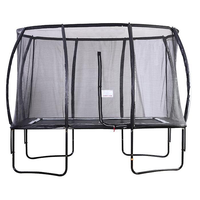 Air King Pro 7x11ft Rectangular Trampoline with Safety Enclosure