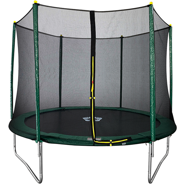 Velocity 10ft Trampoline with Safety Enclosure