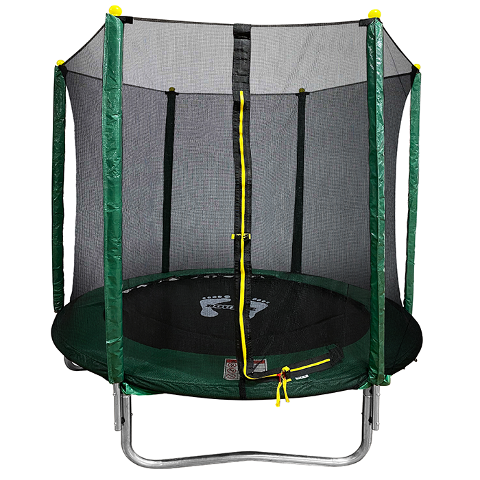 Velocity 6ft Powder Coated Trampoline with Safety Enclosure