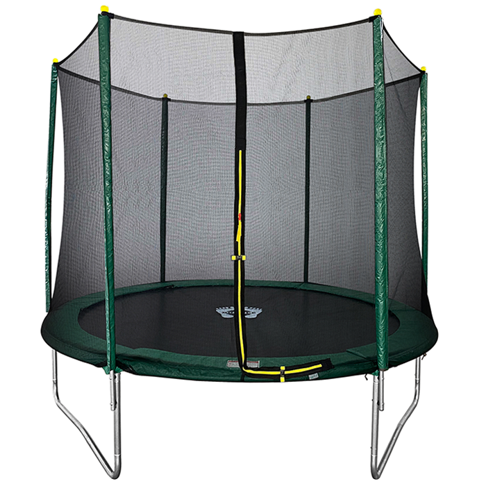 Velocity 8ft Trampoline with Safety Enclosure