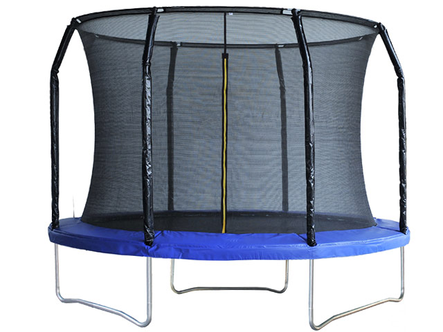 Air League 8ft Trampoline with Enclosure Blue
