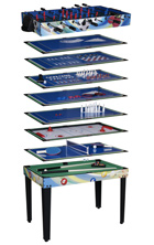 basketball 12 in 1 games table
