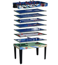 MAKO MULTI PLAY 12 IN 1 GAMES TABLE
